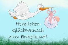 Babykarte mit Stoffhasen: Ein Kind macht das Haus ...