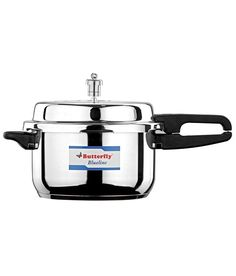 Among all cooker brand Butterfly is one of the best brand for you. There are many option for you to buy butterfly cookers. Infibeam has large collection of butterfly cookers. Infibeam provides you butterfly cooker price, material, capacity and multiple types like Inner Lid Aluminium Pressure cooker, Stainless Steel, induction based butterfly cookers.