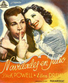 239.  Navidades en julio. Dirigida por Preston Sturges. Valencia: Gráficas Valencia, 1946.  #ProgramasdeMano #BbtkULL #Musicales #DiadelLibro2014