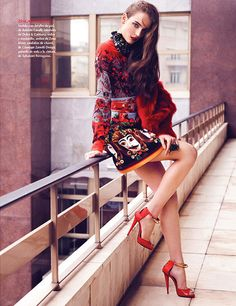 Zuzanna Bijoch Stars in Vogue Latin America July 2013 Cover Shoot | Fashion Gone Rogue: The Latest in Editorials and Campaigns