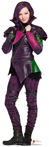 Mal - Disney Descendants Lifesize Cardboard Cutout