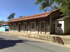 Estação do Monte Serrat que faz parte da construção da cidade de Itupeva, aguarda restauro e tombamento.