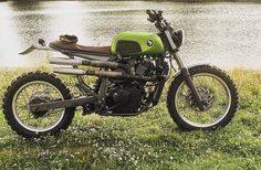 Honda Transalp XL600V Scrambler - Mattias Storgren #motorcycles #scrambler #motos | caferacerpasion.com