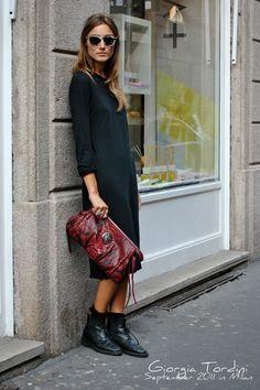Giorgia Tordini, September 2011 Milán,  The Street Muse