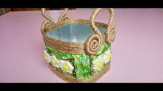 Straw Bag, Basket, Cos, Flowers, Handmade, Youtube, Shapes, Hand Made, Royal Icing Flowers