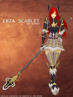 Erza Scarlet by XxDevilxXz on DeviantArt