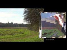 José SALVAGGIO plein air painting 32 Country walk - YouTube