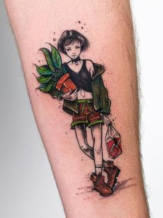 Mathilda from Leon Tattoo