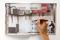 Sketchbook replaces ruled blank paper with New York landscapes to let users test their inner street artist.