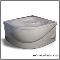 Cadita dus inalta Jena din compozit marmura Bathtub, Bathroom, Standing Bath, Washroom, Bath Tub, Bathrooms, Bathtubs, Bath, Tub