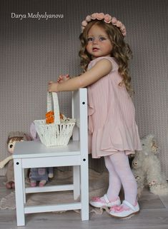 ***Realistic girl doll reborn toddler~ Bonnie by Linda Murray*** Reborn Child, Reborn Toddler Girl, Reborn Babypuppen, Child Doll, Reborn Baby Dolls, Girl Dolls, Boy Toddler, Barbie Dolls, Silicone Reborn Babies