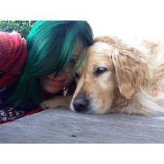 Immagine tramite We Heart It #bands #greenhair #ta #tonightalive #jennamcdougall