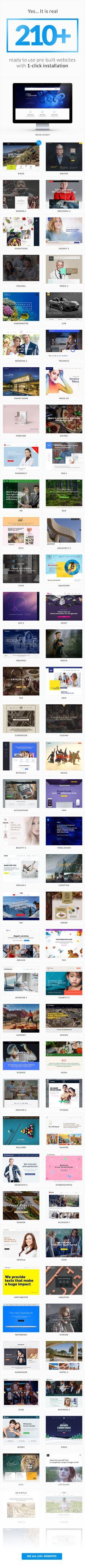 Jupiter - Multi-Purpose Responsive Theme   Business website ...