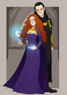 Sigyn and Loki <---- This looks an awful lot like Charlie. Kudos to the artist