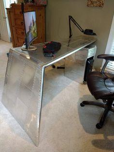 Schreibtisch Aluminium
