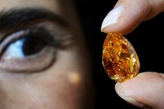 AFP: World's largest orange diamond fetches record $35.5 mln