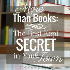 shout out to my librarian friends! Your local library is a haven for more than just borrowing a few books. Rediscover this pillar of the community and enjoy all the FREE benefits. Here are 9 ways the library can be thrifty and fun! Library Books, Local Library, Books To Read, My Books, Library Inspiration, Best Kept Secret, Book Nooks, Bookstores, Libraries