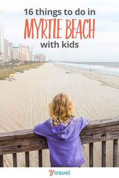 Things to do in Myrtle Beach with kids. Click inside for tips on things to do, where to eat local food and good restaurants, hotels and where to stay in Myrtle Beach, South Carolina, and all the activities and attractions you won't want to miss!  There's so much more to do than just hang out at one of the best beaches in the USA!  #travel #MyrtleBeach #SouthCarolina #familytravel #USAvacation