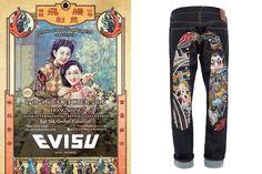 表達真我!EVISU 與5大國際級紋身師聯乘推出Tattoo Capsule Collection
