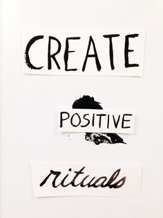 Creative Process: Ritual and Flow - Instead of spending hours clicking the heart button and virtually collecting other people's work you're inspired by, start out by writing down all of your ideas, connections, and themes that emerge when thinking about solving a problem through graphic design.