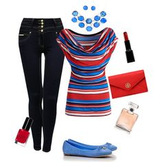 casual day, created by csallsazar on Polyvore