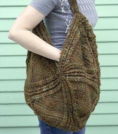 Missing Piece Hobo Bag by Norah Gaughan