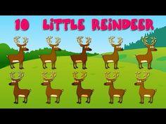 ▶ Ten Little Reindeer - YouTube