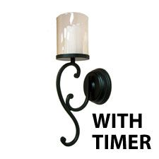 Check out the deal on Battery Operated Glass Hurricane Wall Sconce with Timer Rubbed Bronze at Battery Operated Candles Candle Sconces, Wall Sconces, Tea Lights, Wall Lights, Battery Operated, Hurricane Glass, Wrought Iron, Scones, New Homes