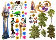 disney's tangled magnetic sheet free printables