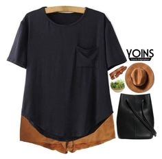 """""""Yoins 3.7"""" by emilypondng ❤ liked on Polyvore featuring Joe's, Picnic at Ascot, vintage and yoins"""