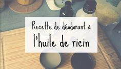 L'huile de ricin est parfaite pour créer baumes, masques mais également des déodorants. Testez notre recette de déodorant naturel à l'huile de ricin.