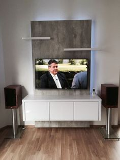 Referenzen   TV WALL TV Wand | Fernsehwand Aus Schreinerhand | Wohnidee |  Pinterest | Wand, Tv Walls And Living Rooms