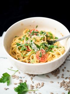 Lemon Pasta (Pici)