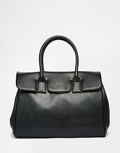 Matt & Nat Structured Tote Bag in Black