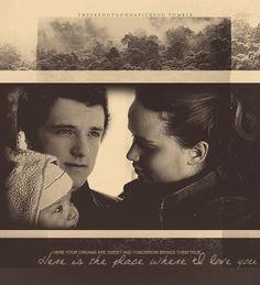 *gasp* Is that Peeta's & Katniss' first child?  aww!