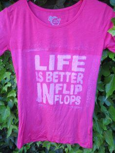 T-shirt gepimpt met bleekwater