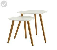 Convenience Concepts Oslo Nesting End Tables - Improve your home (*Amazon Partner-Link)