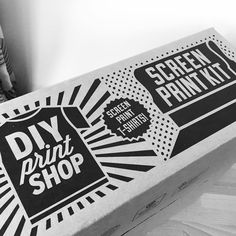 """I got so many awesome gift for Christmas and I certainly can't wait to play with this one!  #screenprinting #screenprint #diyprintshop #design…"""