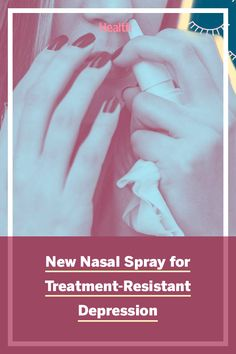 A new antidepressant has been approved by the FDA. It's delivered by nasal spray designed to work a very short time compared to oral antidepressants. Here's what you need to know. #antidepressants #mindandmood #depression #treatment #mentalhealth