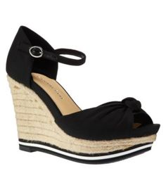 01bd415b196 Gianni Bini Jenn Linen Wedge Sandals