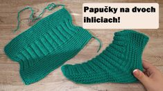 Ravelry: Easy Socks Two Needle pattern by Katerina Mushyn Beginner Knitting Patterns, Easy Knitting Patterns, Knitting For Beginners, Knitting Designs, Free Knitting, Knitting Socks, Knit Socks, Crochet Socks, Knitting Tutorials