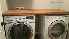 14 Basement Laundry Room ideas for Small Space (Makeovers) Laundry room decor Small laundry room ideas Laundry room makeover Laundry room cabinets Laundry room shelves Laundry closet ideas Pedestals Stairs Shape Renters Boiler Laundry, Diy Bathroom, Diy Countertops, Laundry Storage, Basement Laundry Room, Room Diy, Laundry Room Diy, Room Storage Diy, Room Shelves