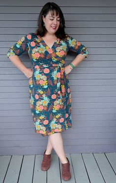 Cookin' & Craftin': Sew Your Hart Out September: Appleton Dress in Autumn Vibes