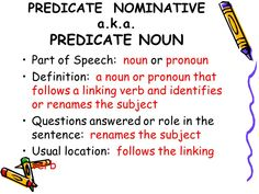 Predicate nominative google search does it matter predicate nominative google search does it matter pinterest homeschool english class and anchor charts stopboris Image collections