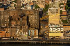 Beautiful aerial #photography series of New York City by George Steinmetz.