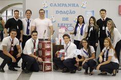 Campanha de doação de leite no Poupatempo São José do Rio Preto