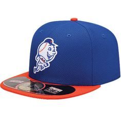 a91e5ffa7dbd5 New York Mets New Era On Field Diamond Era 59FIFTY Fitted Hat - Royal -   34.99