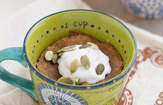 Healthy Sweet Potato Mug Cake Recipe