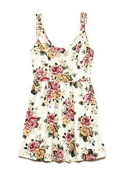 Floral Frenzy Skater Dress | FOREVER21