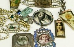 Incorporating Resin in Jewelry Making: Make Resin Jewelry with Found Objects, Art, Natural Treasures and More - Online Course with Linda Larsen - Jewelry Making Daily